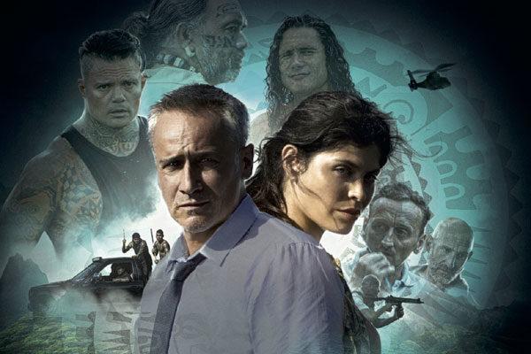 Affiche meurtre à Tahiti la fiction