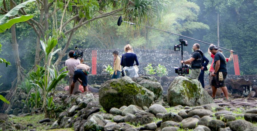 Tournage Fiction Tahiti
